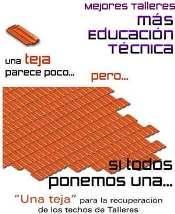 doná tejas para arreglar los techos del POLI - click para visitar la página del Instituto